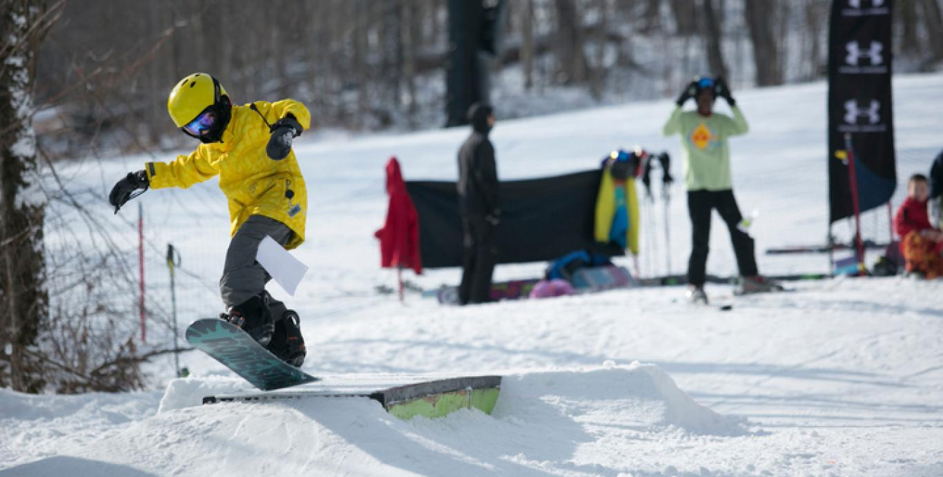 ski and snowboard terrain parks at killington ski resort